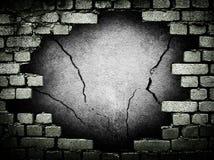 Mur de briques grunge Images libres de droits