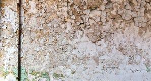 Mur de briques grunge avec la peinture d'éclat images stock