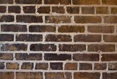 Mur de briques grunge de montant Photographie stock libre de droits