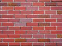 Mur de briques industriel Image libre de droits
