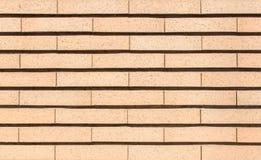 Mur de briques jaune vibrant moderne comme fond d'image photographie stock libre de droits