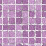 Mur de briques lilas Photos libres de droits