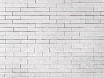 Mur de briques modifié blanc Images stock