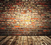 Mur de briques multicolore Image stock