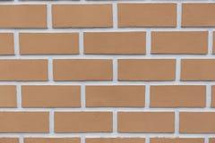 Mur de briques neuf Photographie stock