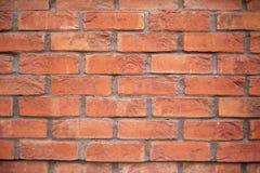 Mur de briques neuf Grunge de mur de briques de ciment délabré par cru Fond rouge de texture de ciment de mur de briques Mur de b photos stock