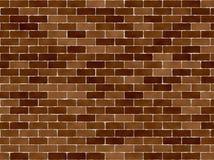 Mur de briques normal Photos libres de droits