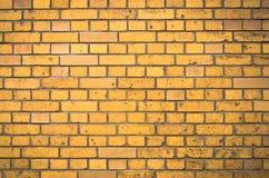 Mur de briques orange Photographie stock libre de droits