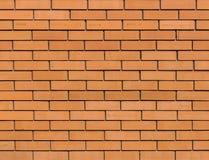 Mur de briques orange rouge pour la texture de fond photographie stock libre de droits
