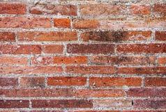 Mur de briques romain antique, plan rapproché Pompeii en Italie images libres de droits