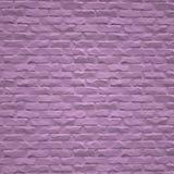 Mur de briques rose illustration stock