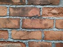 Mur de briques rouge à de nouveaux territoires Hong Kong photo libre de droits