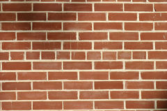 Mur de briques rouge Photo libre de droits
