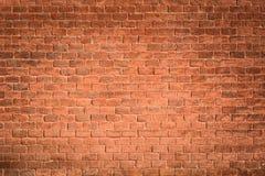 Mur de briques rouge Images stock