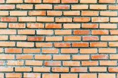 Mur de briques rouge Photo stock