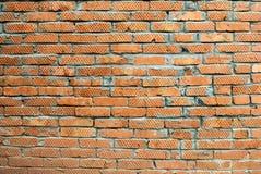 Mur de briques rouge Photos stock