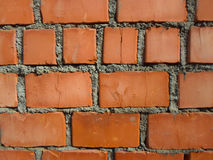 Mur de briques rouge Image stock