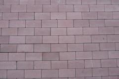 Mur de briques rouge d'un bâtiment Photo stock