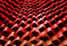 Mur de briques rouge diagonal étendant le fond photos stock