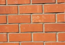 Mur de briques rouge, fond Photographie stock