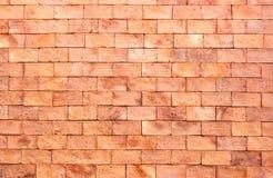 Mur de briques rouge neuf photos stock