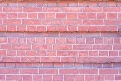 Mur de briques de rouge de pierre de texture de fond photo stock