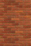 Mur de briques rouge sans joint Image stock