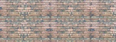 Mur de briques rouge sans joint Photographie stock libre de droits