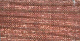 Mur de briques rouges Photos stock