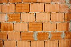 Mur de briques rouges Images libres de droits
