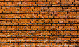 Mur de briques rouges Photographie stock