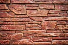 Mur de briques rugueux Image libre de droits