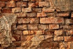 Mur de briques rustique de vintage Photographie stock
