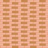 Mur de briques sans couture Photos stock