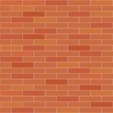 Mur de briques sans joint Photos libres de droits