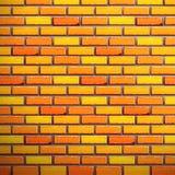Mur de briques sans joint Photographie stock libre de droits