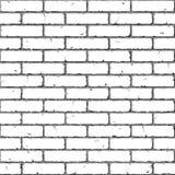 Mur de briques. Sans joint. Illustration de vecteur. Image stock