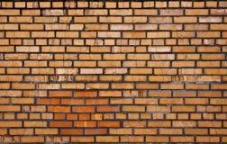 Mur de briques souillé Image libre de droits