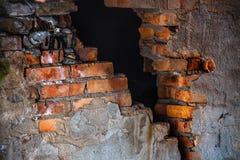 Mur de briques texturisé Images libres de droits