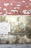 Mur de briques texturisé dans Berkeleley, la Californie photos stock