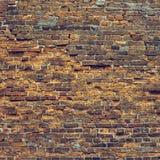 Mur de briques très vieux Photo stock