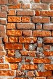 Mur de briques très vieux Image libre de droits