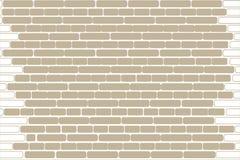 Mur de briques de vecteur illustration libre de droits