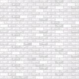 Mur de briques de vecteur blanc illustration libre de droits