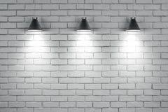 Mur de briques vide avec le copyspace illustration libre de droits