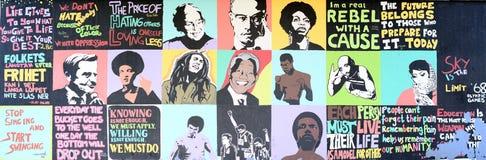 Mur de célébrité photos libres de droits