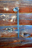 Mur de cabine de log. photographie stock libre de droits