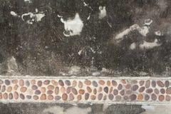 Mur de caillou Photos libres de droits