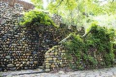 Mur de cailloux Images stock