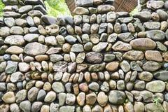 Mur de cailloux Photographie stock